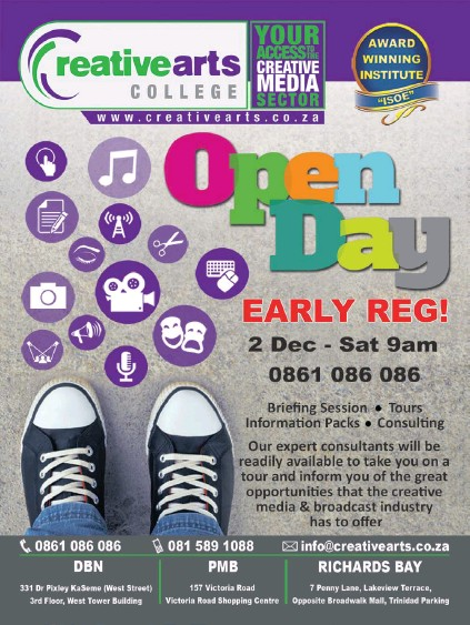 Pressreader Isolezwe 2017 11 27 Creative Arts College Open Day
