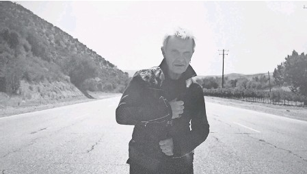 """?? PROVIDED BY STEVEN SEBRING ?? Billy Idol's EP, """"The Roadside,"""" is his first new release in nearly seven years."""