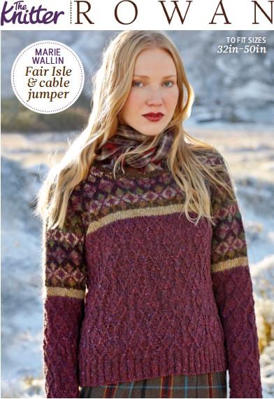 Pressreader The Knitter 2014 11 11 Fair Isle Cable Jumper