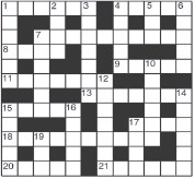 Pressreader Pretoria News 2020 01 21 10 Minute Crossword