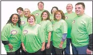 ??   SUPPLIED PHOTO ?? Lose to win: The northwest Indiana competitors participating in Seattle Sutton's 2014 Slim Down Contest are (top row, left to right) Maureen A., Michael P., Tim K., Jessica M., Michael A. and (bottom row, left to right): Annette W., Linda A., Sue K.,...