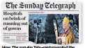 ??  ?? How The Sunday Telegraph revealed the leaked emails on April 12 2020