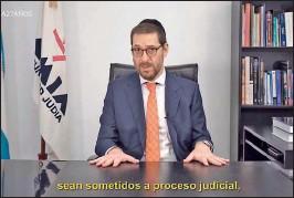 ??  ?? AMIA. Ariel Eichbaum se opuso a la idea de un juicio en ausencia.