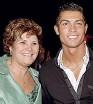 ??  ?? Dolores Aveiro, mamma di CR7