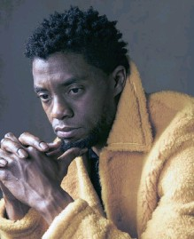 ??   VICTORIA WILL INVISION AP ?? ACTOR Chadwick Boseman, who played black icons Jackie Robinson and James Brown, before finding fame as the regal Black Panther in the Marvel cinematic universe, died last week of cancer. He was 43.