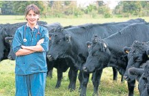 ??  ?? Research shows farm vets can often feel isolated.