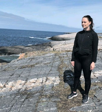 ?? Foto: Fenris Film ?? Line Hatmosø Hoem är en av de medverkande i dokumentären. Hon överlevde dådet på Utøya.
