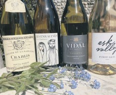 ??  ?? White wines for spring