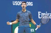 ?? FILE PHOTO ■ ?? Major goal: Djokovic, who has topped the world rankings for 282 weeks, could overtake Federer's record of 310 weeks at the top spot by March next year.