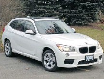 ?? GRAEME FLETCHER/POSTMEDIA NEWS ?? Is BMW's completely versatile 2013 X1 the ultimate crossover?