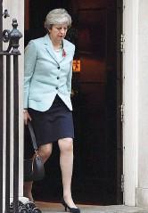??  ?? Downing Street La premier britannica Theresa May, 61 anni