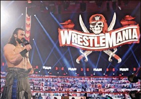 ?? WWE ?? When Drew McIntyre takes part in WrestleMania 37 at Raymond James Stadium, it will be just 5 miles away from where he used to train in Tampa as an up-and-comer.