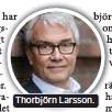 ??  ?? Thorbjörn Larsson.