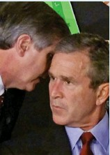 ??  ?? 2001: Mr Bush is told about 9/11