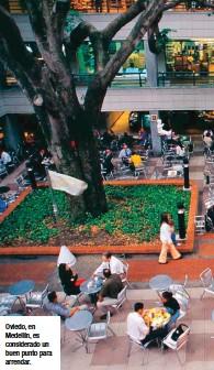 ??  ?? Oviedo, en Medellín, es considerado un buen punto para arrendar.