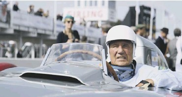 ?? PHOTO BY ADAM BERESFORD ?? Sir Stirling Moss at the 2011 Goodwood Revival