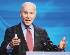 ?? AP ?? EN AGENDA. Biden ha dicho que el Senado podría dividir su tiempo entre el juicio político, la confirmación de los nominados a su gabinete y hacer frente al COVID-19.