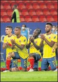 ??  ?? Penaltis contra Uruguay.