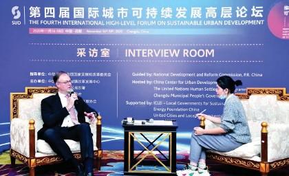 ??  ?? 世界经济论坛大中华区首席代表艾德维接受每经记者专访