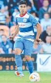 ??  ?? SUPERB: QPR midfielder Massimo Luongo.