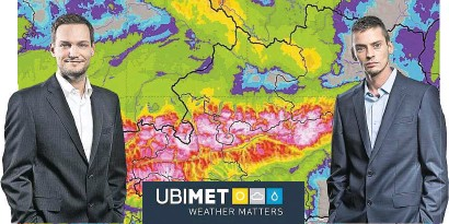 """?? Fotos: UBIMET ?? Michael Fassnauer (li.) und Manfred Spatzierer: """"Technologisch weltweit führend."""""""