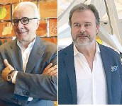 """??  ?? Michelin-star chef Alain Ducasse """"Picasso of Pastry"""" chef Pierre Herme"""