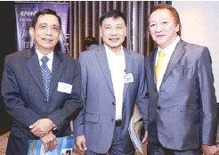 ??  ?? CIBI Foundation, Inc. trustee Ronnie Alcantara, First Metro Investment, Inc. independent director lawyer Billy Cortez and Crusaders Consultancy Services managing director Bingo Dejaresco