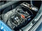 ??  ?? ▶ Kuga PHEV har ikke plads til reservehjul, da 12-volts batteriet bor under bagagerummets gulv.