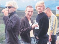 ??  ?? TRAINSPOTTING: Depicted Scots as drug-fuelled and hard-drinking.