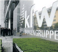 ?? Pic­ture: Getty Im­ages ?? Ger­many's state-owned de­vel­op­ment bank KfW Group was formed in 1948 af­ter World War 2 as part of the Mar­shall Plan to re­build the coun­try.