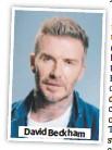 ??  ?? David Beckham