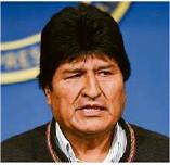 ??  ?? In Bolivien wird am Sonntag ein Nachfolger von Ex-Präsident Evo Morales (links) gewählt. Übergangspräsidentin Jeanine Anez (unten) zog ihre Kandidatur zurück. In Venezuela ist weiter der umstrittene Präsident Nicolas Maduro an der Macht.