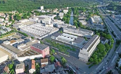 ?? Visualisierung: PD ?? Die Maschinenfabrik Rieter will ihre rund 700 Arbeitsplätze in einem Hightech-neubau zusammenlegen. Dieser soll gegen Ende 2023 fertiggestellt sein.