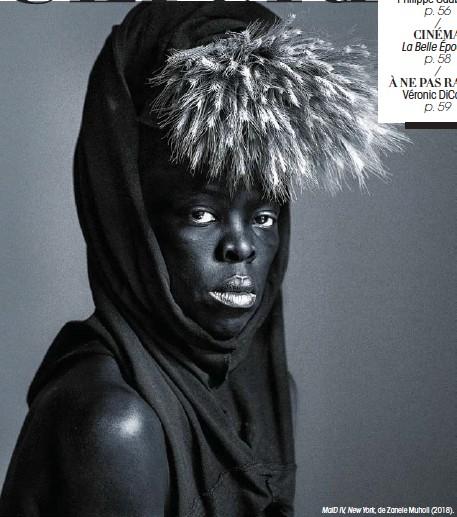 ??  ?? MaID IV, New York, de Zanele Muholi (2018).
