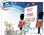 """??  ?? """"Test your English""""verwöhnt Sie mit vielen spannenden Artikeln auf Englisch."""