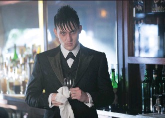 """?? JESSICA MIGLIO/ FOX ?? Robin Lord Taylor says he tries to make Oswald Cobblepot """"real"""" in the TV series Gotham."""