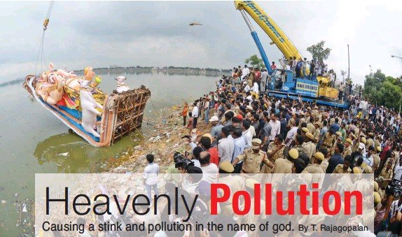 factors responsible for pollution of hussain sagar lake