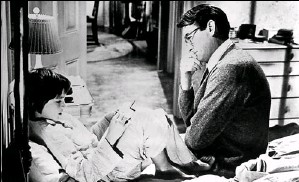 ?? Universal Studios Home Video ?? Movie is beloved, as well: Mary Badhamplayed Scout to Gregory Peck's Atticus Finch in the 1962 movie, which scored an Academy Award nomination for Badhamand a best-actorwin for Peck.