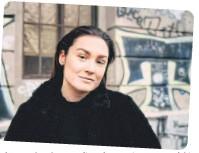 ??  ?? Bianca Jankovska mangelt es nie an Mut für neue Projekte