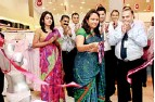 ??  ?? Nadisha Wickremethilake – Manager Marketing, Fashion Bug, Nisha Amalean – Chief Guest cutting the ribbon to declare open the Amante outlet at Fashion Bug. Shabir Subian – Director, Fashion Bug and Faraaz Hameed – Assistant General Manager Retail Sales...