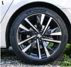 ??  ?? 2. Batteriet på 11,6 kwh giver en raekkevidde på op til 57 km. 3. Braendstoftanken er på 43 liter, der giver en samlet raekkevidde på op mod 1.000 km.