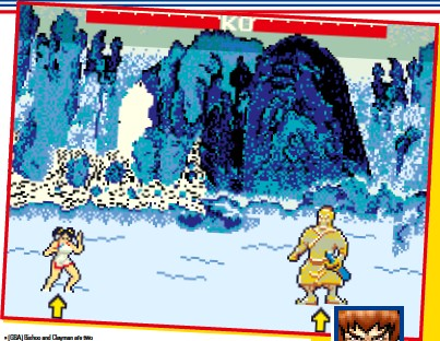 ??  ?? » [GBA] Bishoo and Clayman are two new fighters that are only found in the GBA version of Yie Ar Kung-fu.