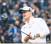 ?? AP PHOTO ?? He may be almost 40, but Zach Johnson believes he is playing the best golf of his career.