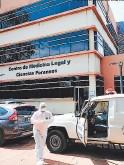 ?? FOTO: ESTALIN IRÍAS ?? El Cuerpo fue ingresado Ayer A la morgue del Ministerio Público.