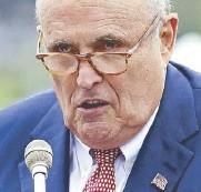 ??  ?? Giuliani