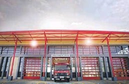??  ?? The doors of Kwathema Fire Station opened in June 2020