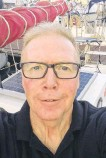 """?? CONTRIBUTED ?? Summerside, P.E.I., sailor Alan Mulholland, who attempted an around the world solo sail, urges graduates to """"live in the moment and, when you run up against challenges and setbacks, embrace them, for they are some of the truest learning moments you will ever come across."""""""
