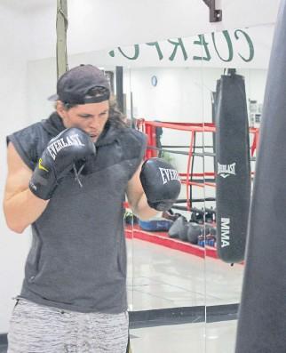 ?? CORTESÍA ?? El boxeador Deneb Díaz espera brillar en su combate ante el estadounidense Derrick Webster.