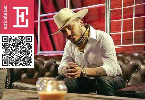 ?? / CORTESÍA ?? Música. El cantante estará en los Latin Grammy desde Guadalajara, el próximo 19 de noviembre.