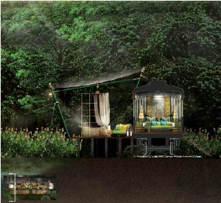 ??  ?? THIS PAGE: DIGITAL DESIGN RENDERINGS OF INTERCONTINENTAL KHAO YAI NATIONAL PARK, THAILAND (IMAGES COURTESY OF BENSLEY DESIGN) OPPOSITE PAGE: KRUGER SHALATI, SOUTH AFRICA